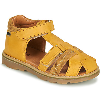 Schuhe Jungen Sandalen / Sandaletten GBB MITRI Gelb