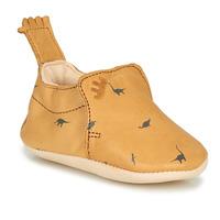 Schuhe Kinder Hausschuhe Easy Peasy BLUMOO Cognac