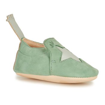 Schuhe Kinder Hausschuhe Easy Peasy BLUMOO ETOILE Grün