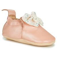 Schuhe Kinder Hausschuhe Easy Peasy BLUMOO NOEUD Rose