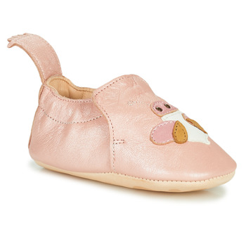 Schuhe Kinder Hausschuhe Easy Peasy BLUMOO ABEILLE Rose