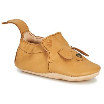 Schuhe Kinder Hausschuhe Easy Peasy BLUMOO CHIEN Braun
