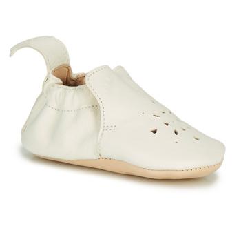 Schuhe Kinder Hausschuhe Easy Peasy BLUMOO PERFOS Weiss