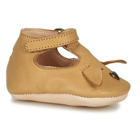 Schuhe Kinder Hausschuhe Easy Peasy LOULOU CHIEN Braun