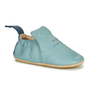 Schuhe Kinder Hausschuhe Easy Peasy BLUBLU Blau