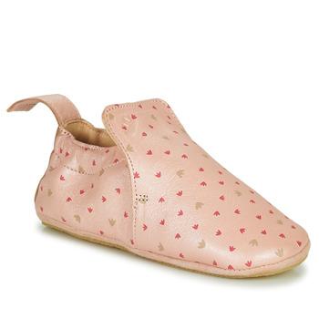 Schuhe Kinder Hausschuhe Easy Peasy BLUBLU Violett