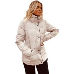 Kleidung Damen Daunenjacken Anastasia gepolsterte Jacke BEIGE