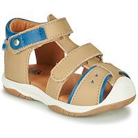 Schuhe Jungen Sandalen / Sandaletten GBB EUZAK Beige