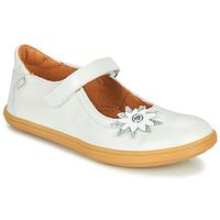Schuhe Mädchen Ballerinas GBB FANETTA Weiss / Perlmut / Dpf