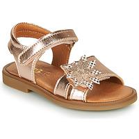 Schuhe Mädchen Sandalen / Sandaletten GBB UPPLA Rose / Gold