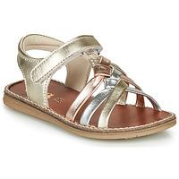Schuhe Mädchen Sandalen / Sandaletten GBB SUMY Gold