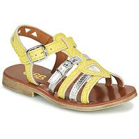Schuhe Mädchen Sandalen / Sandaletten GBB FANNI Gelb
