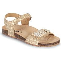 Schuhe Mädchen Sandalen / Sandaletten GBB FAZZI Gold