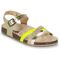 Schuhe Mädchen Sandalen / Sandaletten GBB LULUNE Gold