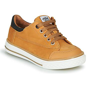 Schuhe Jungen Sneaker Low GBB ETIO Cognac