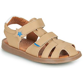 Schuhe Jungen Sandalen / Sandaletten GBB MARINO Beige / Dpf