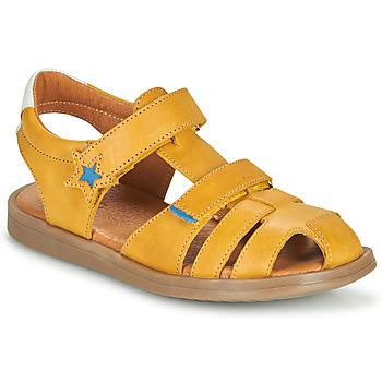 Schuhe Jungen Sandalen / Sandaletten GBB MARINO Gelb