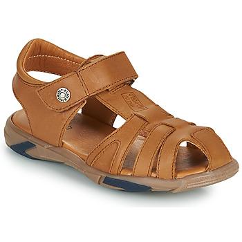 Schuhe Jungen Sandalen / Sandaletten GBB LUCA Braun