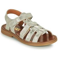 Schuhe Mädchen Sandalen / Sandaletten GBB KATAGAMI Beige / Gold