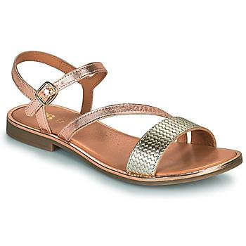 Schuhe Mädchen Sandalen / Sandaletten GBB FANA Rose / Gold / Gold