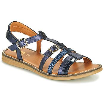 Schuhe Mädchen Sandalen / Sandaletten GBB OLALA Blau