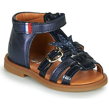 Schuhe Mädchen Sandalen / Sandaletten GBB PAULETTE Marine