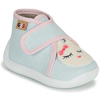 Schuhe Mädchen Hausschuhe GBB APODIE Blau