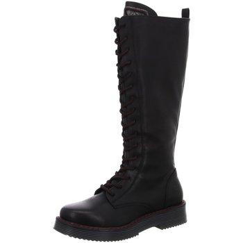 Schuhe Damen Klassische Stiefel Bugatti Stiefel 4315493E5000-1000 0 schwarz