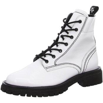 Schuhe Damen Boots Paul Green Stiefeletten 0067-9816-037 9816-037 weiß