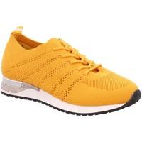 Schuhe Damen Sneaker Low Pep Step Schnuerschuhe Da. Sneaker,YELLOW 236752073 gelb