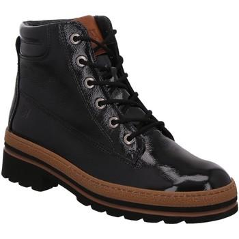 Schuhe Damen Boots Paul Green Stiefeletten 0067-9783-037 9783-037 schwarz