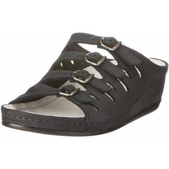 Schuhe Damen Pantoffel Berkemann Hassel dunkel-blau