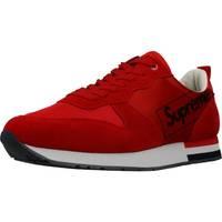 Schuhe Herren Sneaker Low Supreme Grip 027001 Rot