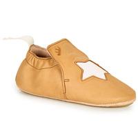 Schuhe Kinder Hausschuhe Easy Peasy BLUBLU ETOILE Cognac