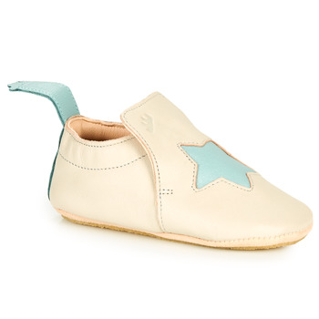 Schuhe Kinder Hausschuhe Easy Peasy BLUBLU ETOILE Beige