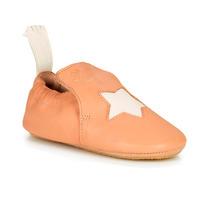 Schuhe Mädchen Hausschuhe Easy Peasy BLUBLU ETOILE Pfirsisch