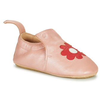Schuhe Kinder Hausschuhe Easy Peasy BLUBLU FLEURS Rose