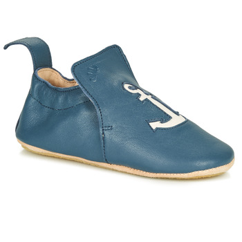 Schuhe Kinder Hausschuhe Easy Peasy BLUBLU ANCRE Blau
