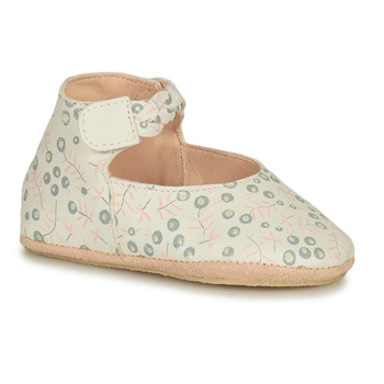 Schuhe Kinder Hausschuhe Easy Peasy BLUBLU DANCE Weiss