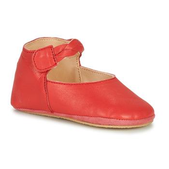 Schuhe Mädchen Hausschuhe Easy Peasy BLUBLU DANCE Rot