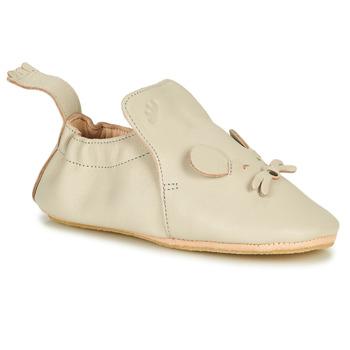 Schuhe Kinder Hausschuhe Easy Peasy BLUBLU MOUSE Beige