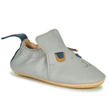 Schuhe Kinder Hausschuhe Easy Peasy BLUBLU CHIEN Grau