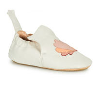 Schuhe Kinder Hausschuhe Easy Peasy BLUBLU COQUILLE Weiss
