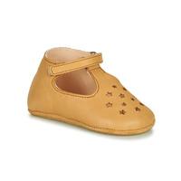 Schuhe Kinder Hausschuhe Easy Peasy LILLOP Cognac