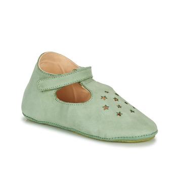 Schuhe Kinder Hausschuhe Easy Peasy LILLOP Grün