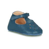 Schuhe Kinder Hausschuhe Easy Peasy LILLOP Blau