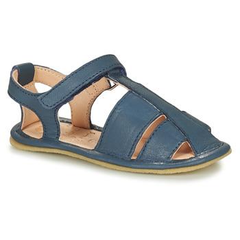 Schuhe Kinder Hausschuhe Easy Peasy NOBLU Blau