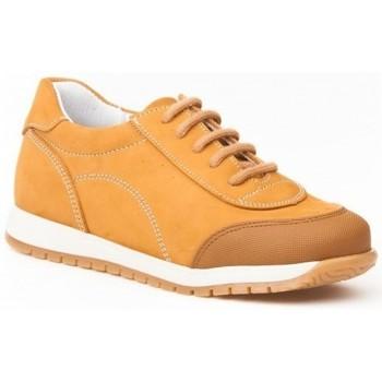 Schuhe Kinder Sneaker Low Angelitos  Marron