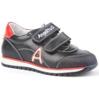 Schuhe Kinder Sneaker Low Angelitos  Bleu