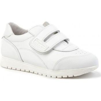 Schuhe Kinder Sneaker Low Angelitos  Blanc